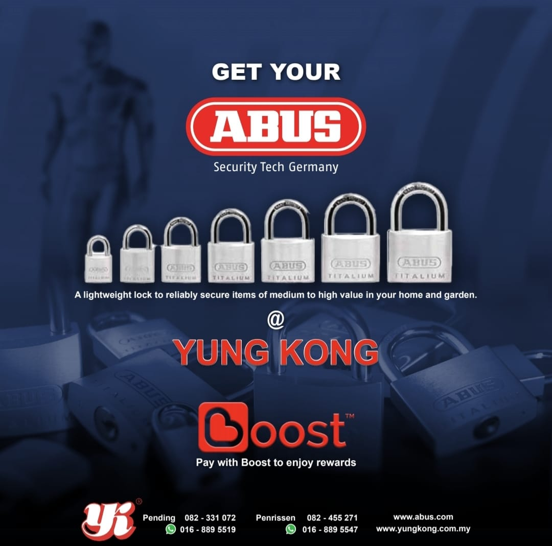 *ABUS* Lock at Yung Kong *Protect the one you love* _Security Tech Germany_